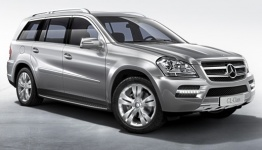 Mercedes GL Class X164 Off-Roader with original Mercedes Wheels