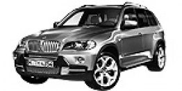 BMW X5 E70 Sports Activity Vehicle with original BMW Wheels