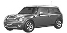 MINI R55 Clubman Estate with original MINI Wheels