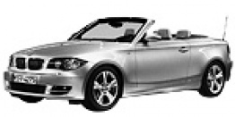 BMW 1 Series E88 Convertible with original BMW Wheels