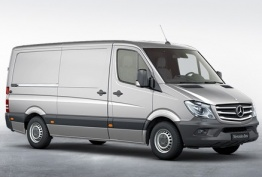 Mercedes Sprinter 906 with original Mercedes Wheels