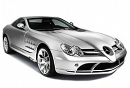 Mercedes SLR C199 Coupé with original Mercedes Wheels