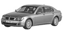 BMW 7 Series E66 Saloon Long Wheelbase with original BMW Wheels