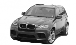 BMW X5M E70 Sports Activity Vehicle with original BMW Wheels
