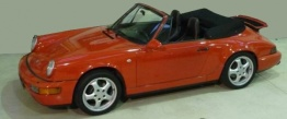 Porsche 911-964 Carrera Cabriolet with original Porsche Wheels