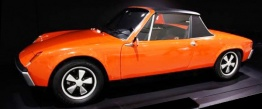 Porsche 914 with original Porsche Wheels