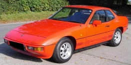 Porsche 924 1980-1985 with original Porsche Wheels
