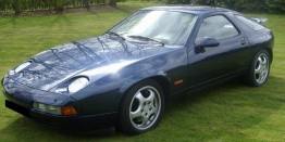 Porsche 928 S4/928 GT with original Porsche Wheels