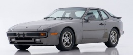 Porsche 944 with original Porsche Wheels