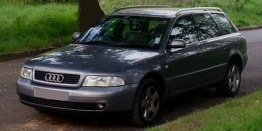 Audi A4 (B5/PL45) 8D Saloon / Avant with original Audi Wheels
