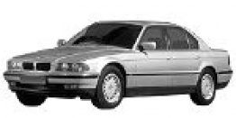BMW 7 Series E38 Saloon with original BMW Wheels