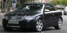 Audi S4 (B6/PL46) 8H Cabriolet with original Audi Wheels