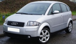 Audi A2 (A04/PQ24) 8Z Hatchback with original Audi Wheels