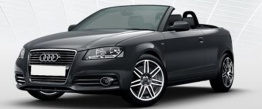 Audi A3 (A4/PQ34) 8P8 Cabriolet with original Audi Wheels
