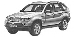 BMW X5 E53 Sports Activity Vehicle with original BMW Wheels