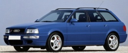 Audi RS2 (B4) 8C Avant with original Audi Wheels