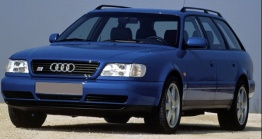 Audi S6 (C4) Q1 Plus Saloon / Avant with original Audi Wheels