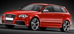 Audi RS3 (A5/PQ35) 8P Sportback with original Audi Wheels