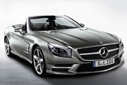 Mercedes SL Class R231 Roadster with original Mercedes Wheels