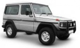 Mercedes G Class G460 Cross Country Vehicle with original Mercedes Wheels