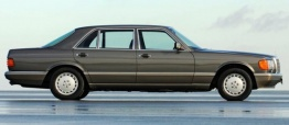 Mercedes S Class V126 Saloon LWB with original Mercedes Wheels