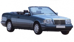 Mercedes E Class A124 Convertible with original Mercedes Wheels