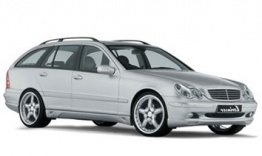 Mercedes C Class S203 Estate with original Mercedes Wheels
