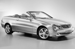 Mercedes CLK Class A209 Convertible with original Mercedes Wheels