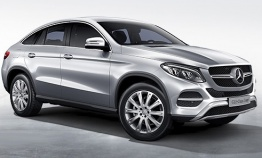 Mercedes GLE Class C292 Coupé with original Mercedes Wheels