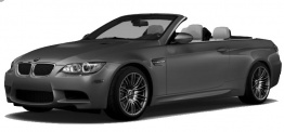 BMW 3 Series E93 M3 Convertible with original BMW Wheels