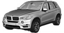 BMW X5 F15 Sports Activity Vehicle with original BMW Wheels