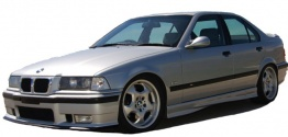 BMW 3 Series E36 M3 Saloon with original BMW Wheels