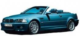 BMW 3 Series E46 M3 Convertible with original BMW Wheels