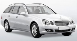 Mercedes E Class S211 Estate with original Mercedes Wheels
