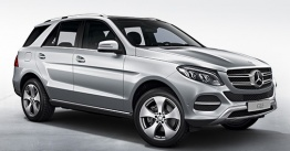 Mercedes GLE Class W166 Off-Roader with original Mercedes Wheels