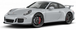Porsche 911-991 Gen 1 GT3 with original Porsche Wheels