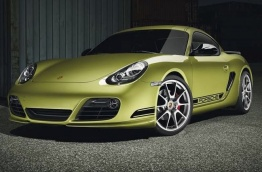 Porsche Cayman R 987C Gen 2  with original Porsche Wheels
