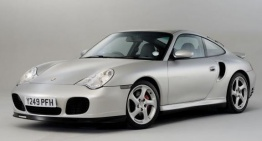 Porsche 911-996 Gen 2 Turbo S with original Porsche Wheels