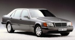 Mercedes S Class W140 Saloon with original Mercedes Wheels