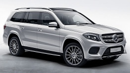 Mercedes GLS Class X166 Off-Roader with original Mercedes Wheels