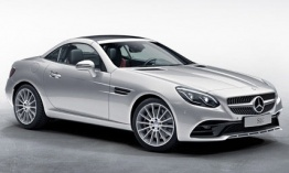 Mercedes SLC Class R172 Roadster with original Mercedes Wheels