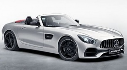 Mercedes AMG R190 GT Roadster with original Mercedes Wheels