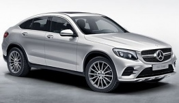 Mercedes GLC Class C253 Coupé with original Mercedes Wheels