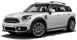 MINI F60 Countryman SUV with original MINI Wheels