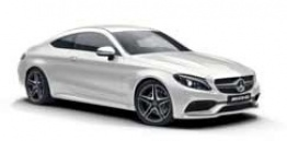 Mercedes C Class C205 C63 & C63S AMG Coupe with original Mercedes Wheels