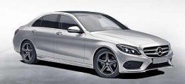 Mercedes C Class V205 C450 AMG Sport 4Matic Saloon LWB with original Mercedes Wheels