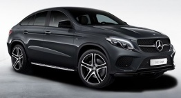 Mercedes GLE Class C292 GLE43 AMG & GLE450 AMG 4Matic Coupé with original Mercedes Wheels