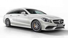 Mercedes CLS Class X218 CLS63 & CLS63S AMG Shooting Brake with original Mercedes Wheels