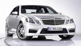 Mercedes E Class W212 E63 & E63S AMG Saloon with original Mercedes Wheels