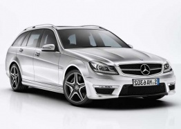 Mercedes C Class S204 C63 AMG Estate with original Mercedes Wheels